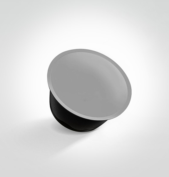 TOP LID FOR CAPS OF DEHYDRATED SOUPS, HIGH BARRIER, PEELABLE,  4@SPRESSO ALUTRPXDG®