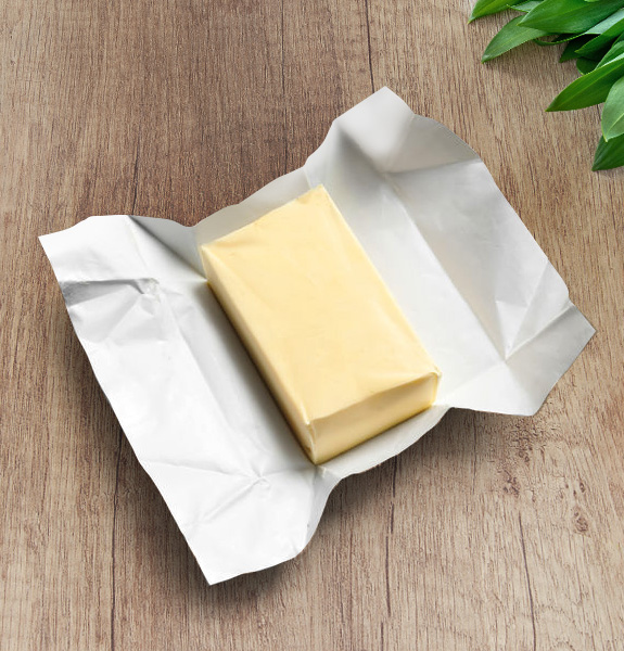 FILMS FOR BUTTER PACK. SINGLE-DUPLEX-TRIPLEX. HDPE-ALU/PP-ALU/PAPER-ALU/PAP/PE-COMPOSTABLE & RECYCLABLE. REMEMBER LAMINATION VIA ADHESIVES NO WAX